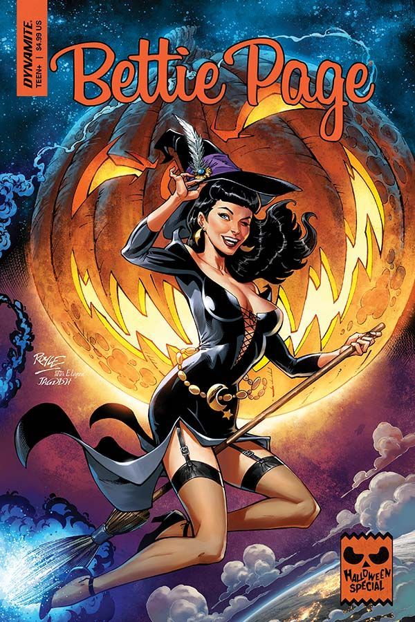 Bettie Page Halloween Special