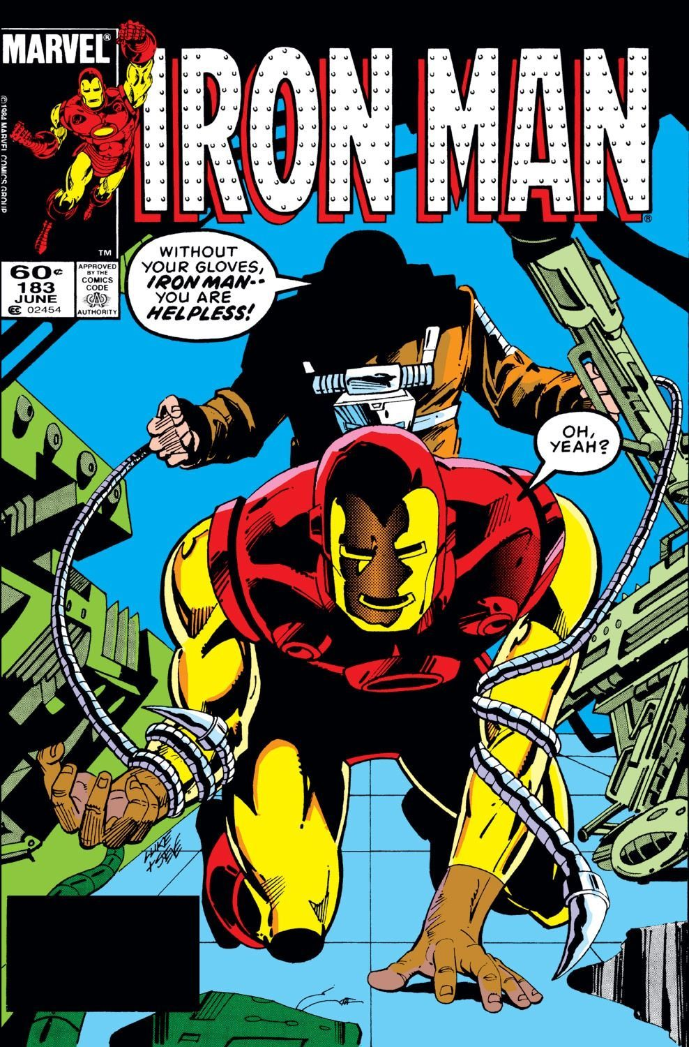Iron Man (1968) #183 (@Marvel)