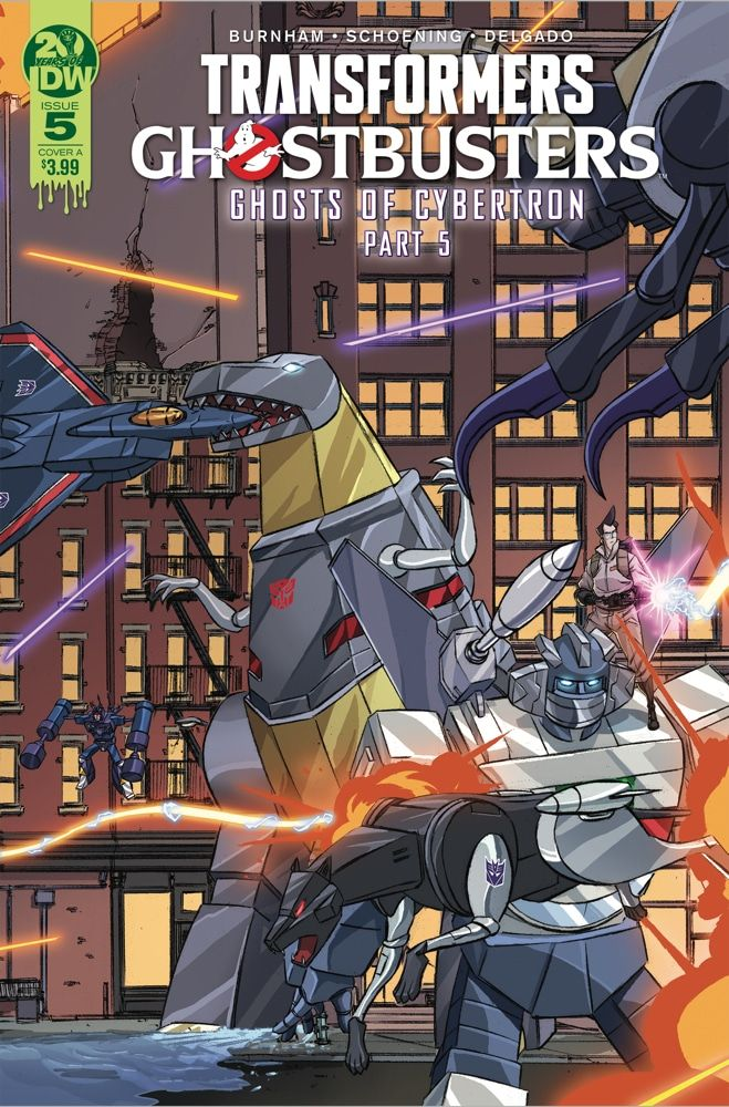 """Transformers/Ghostbusters #5 - """"GHOSTS OF CYBERTRON,"""" Part 5!"""
