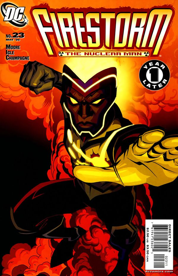 Firestorm #23 - A Hawk in the Nest released by DC Comics on May 1, 2006