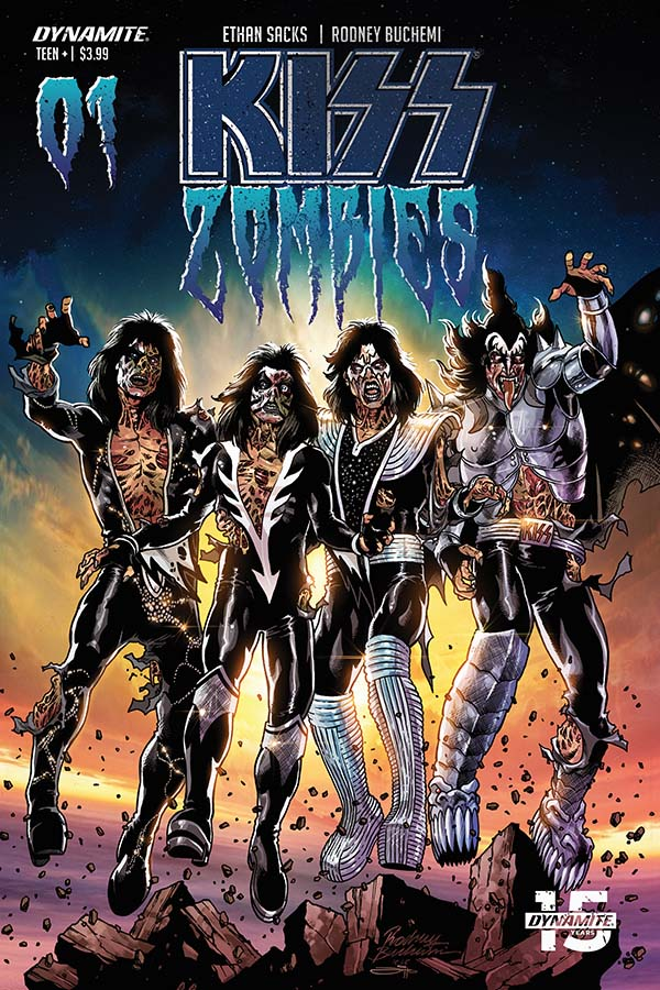 KISS/Zombies #1 (Dynamite Comics) - New Comics