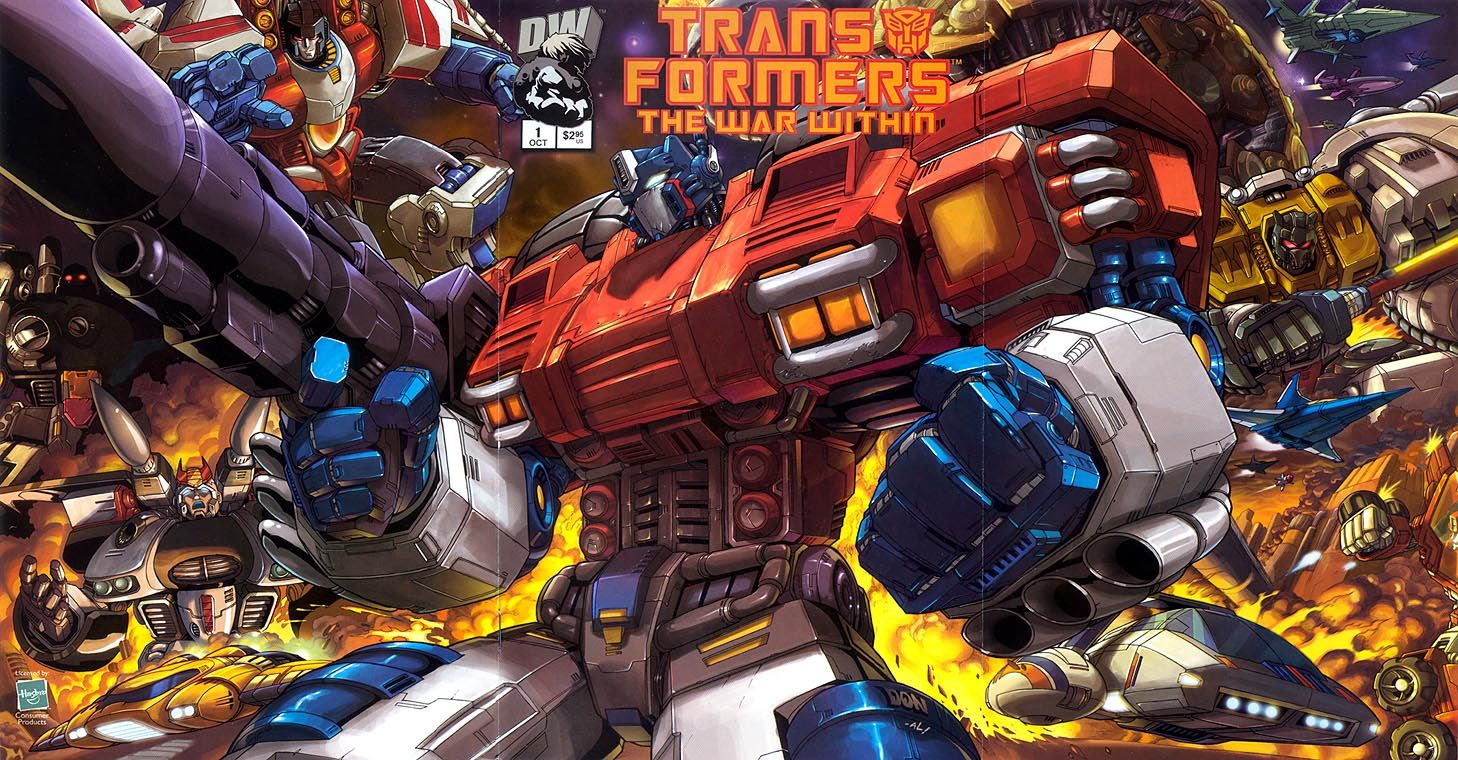 Transformers: The War Within #1 released by Dreamwave Productions on October 1, 2002