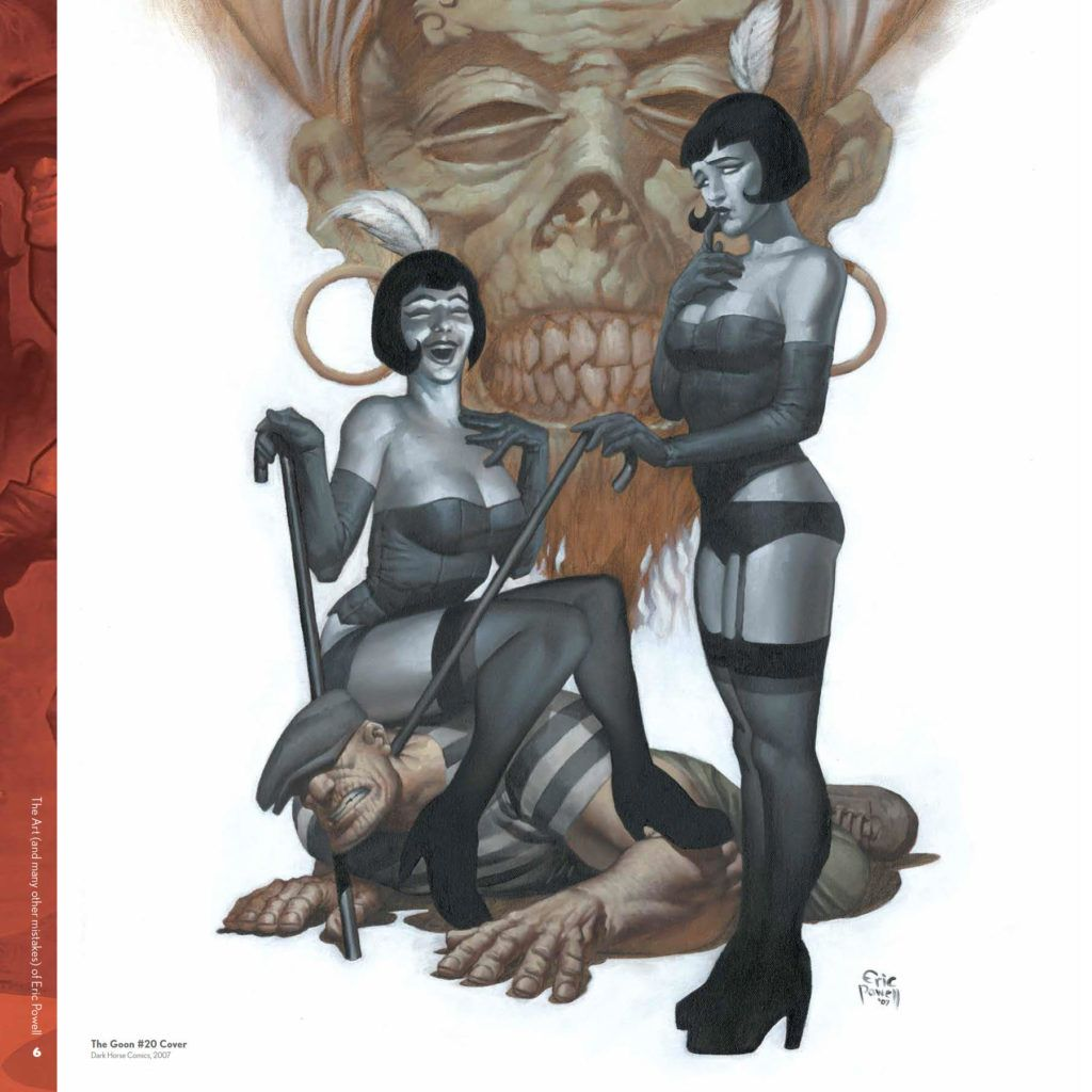 Art (And Many Other Mistakes) Of Eric Powell HC