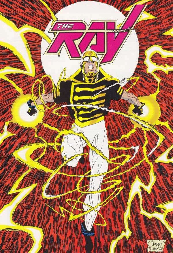 Ray Terrill, the Ray, debuted in The Ray #1 (December 17, 1991).