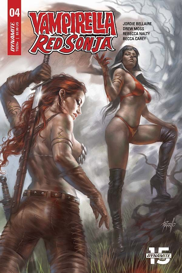 吸血鬼 / Red Sonja#4(@DynamiteComics)– Preview