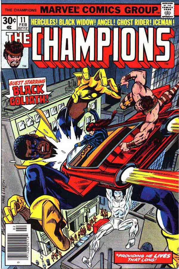 The Champions #11 - (Marvel) - Covers