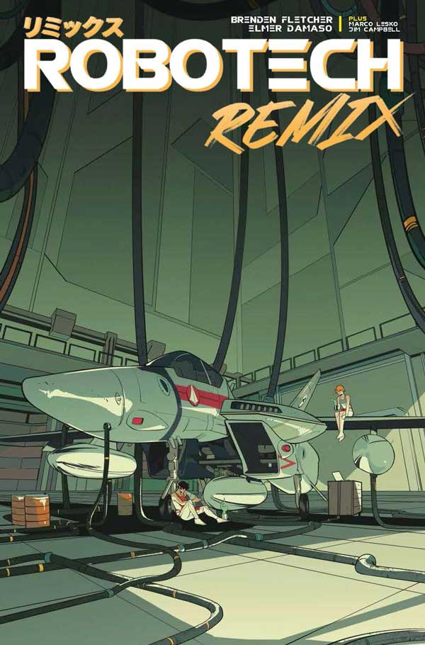 Robotech: Remix #4 - Preview