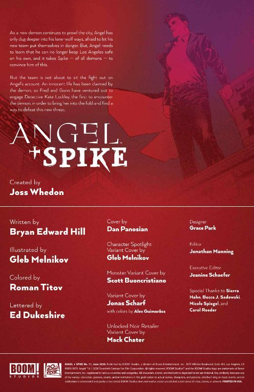 Angel + Spike #11
