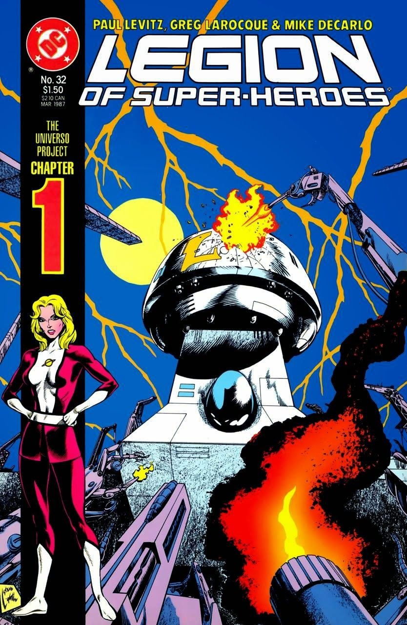 The Legion of Super-Heroes #32-35: The Universo Project