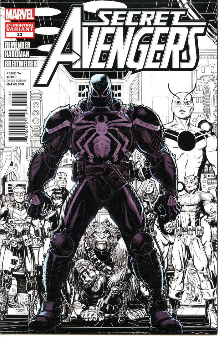 Secret Avengers #23 - A Victory for the Little Guy released by Marvel on April 1, 2012