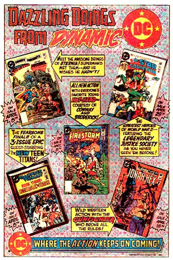 1982 - Dazzling Doings from Dynamic DC
