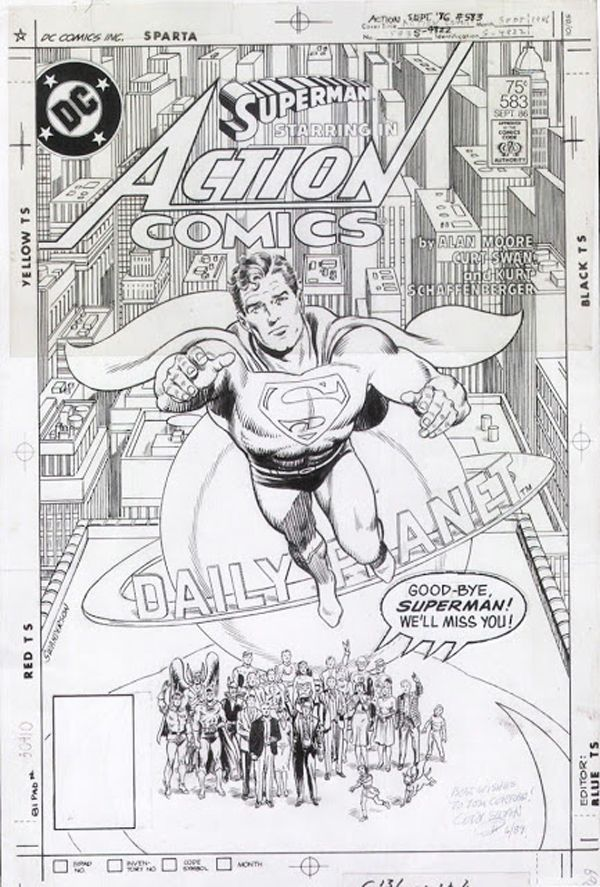 Action Comics #583 - Whatever Happened to the Man of Tomorrow? released by DC Comics on September 1986