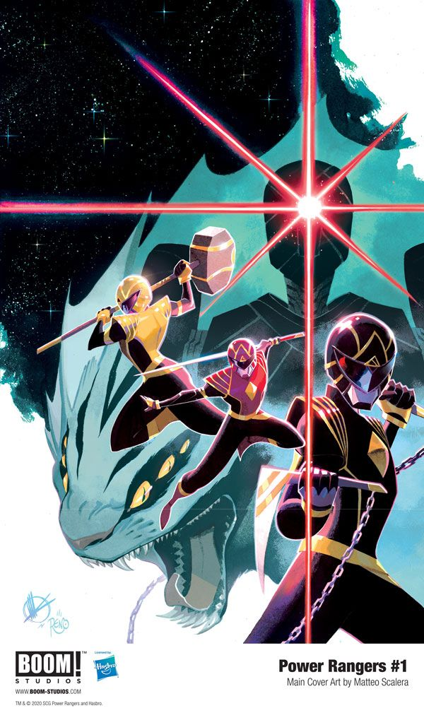 The POWER RANGERS: UNLIMITED POWER Era Begins with POWER RANGERS #1 From BOOM! Studios