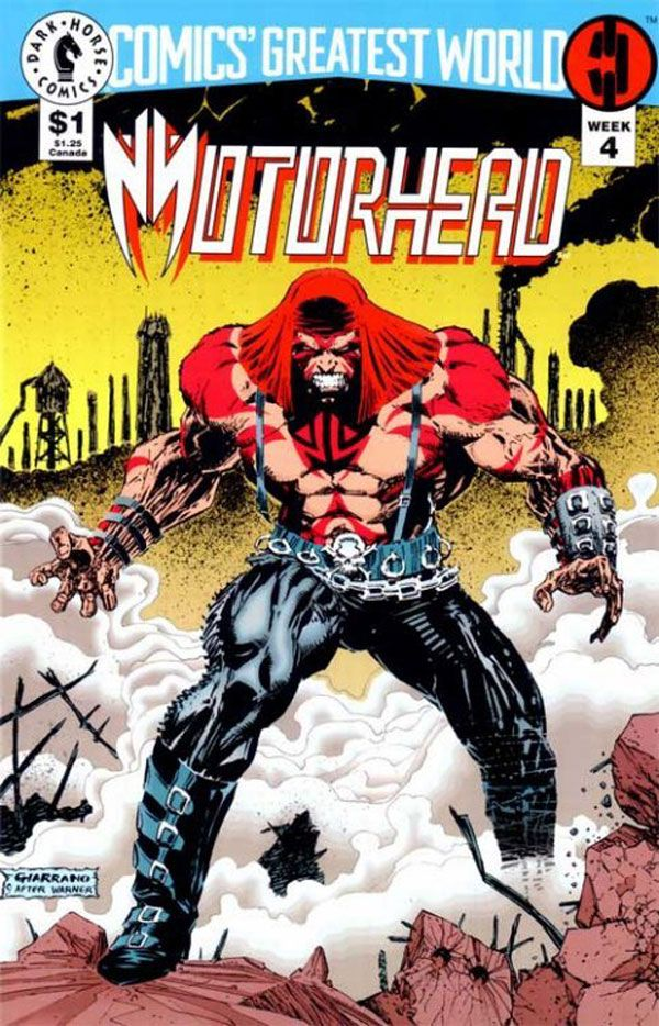 Comics' Greatest World: Steel Harbor #4 - Motorhead (Dark Horse Comics)