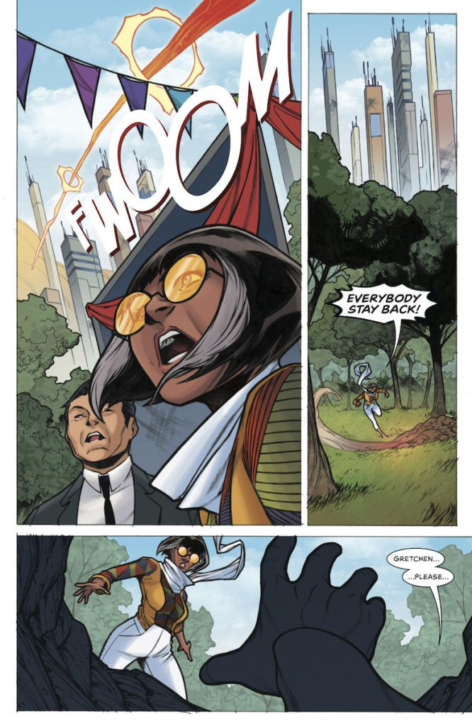 Doctor Tomorrow #4 from Alejandro Arbona and Jim Towe
