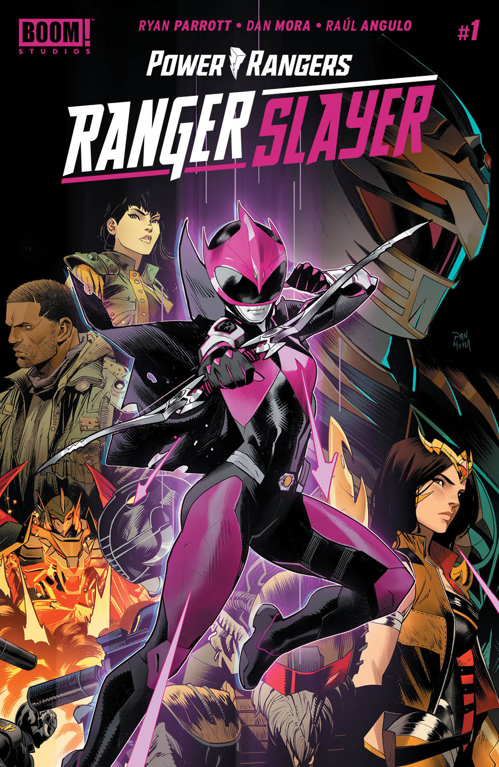 Power Rangers: Ranger Slayer #1 (BOOM! Studios) - New Comics
