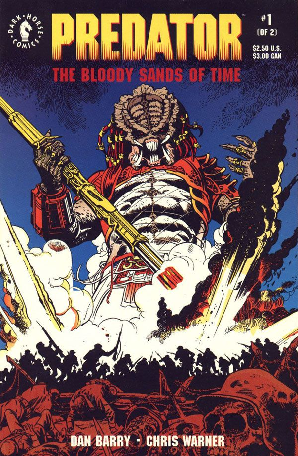 Predator Bloody Sands of Time Issue # 1 (Dark Horse Comics) - Comic Covers .