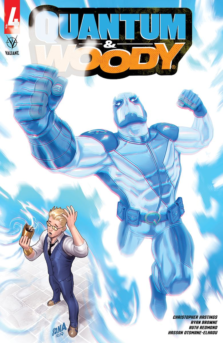 Quantum & Woody (@ValiantComics) #4 - Preview