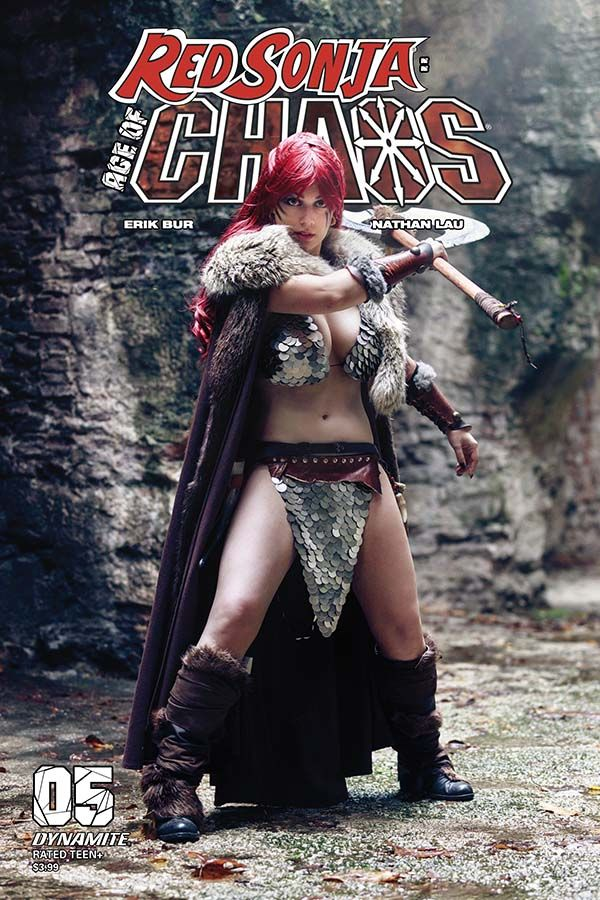 Red Sonja: Age of Chaos #5 (Dynamite Comics) - New Comics