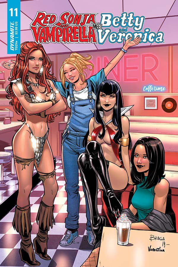 Red Sonja & Vampirella Meet Betty & Veronica #11