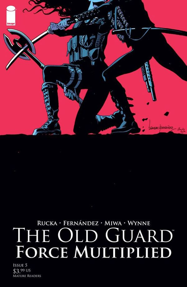 The Old Guard: Force Multiplied #5 (Image Comics)