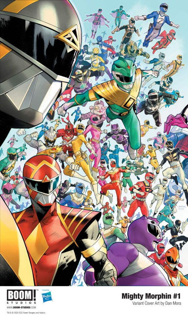The POWER RANGERS: UNLIMITED POWER Era Begins with MIGHTY MORPHIN #1 in November 2020
