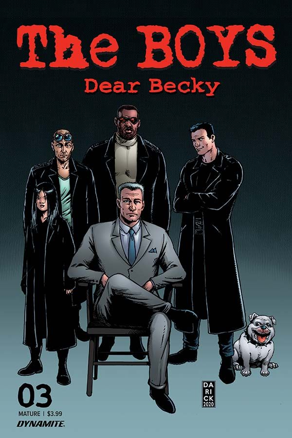 The Boys: Dear Becky #3 (Preview) - DynamiteComics