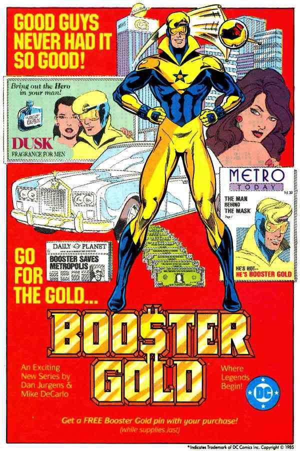 House Ad for Booster Gold (1985)