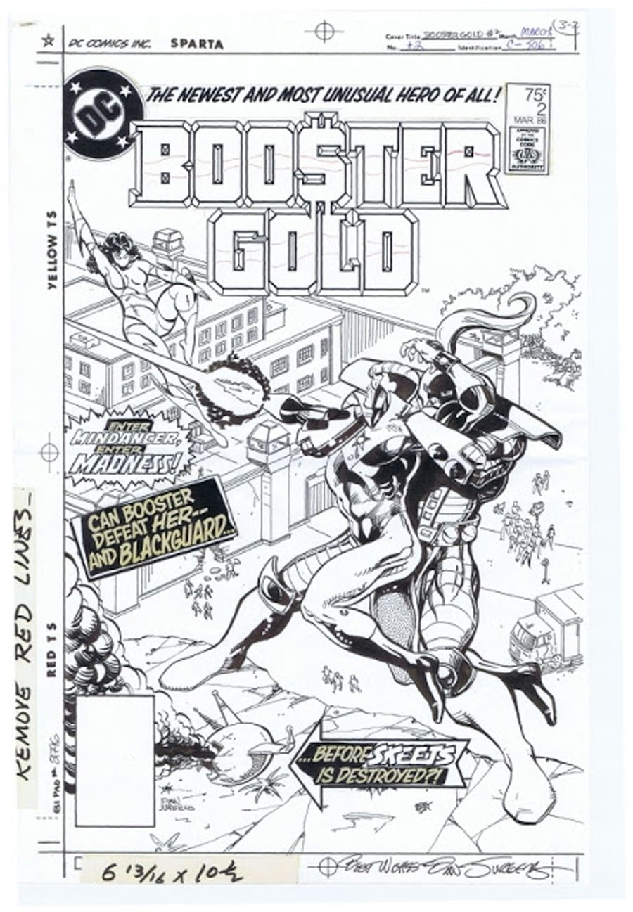 Booster Gold #2 - Cold Redemption released by DC Comics on March 1986