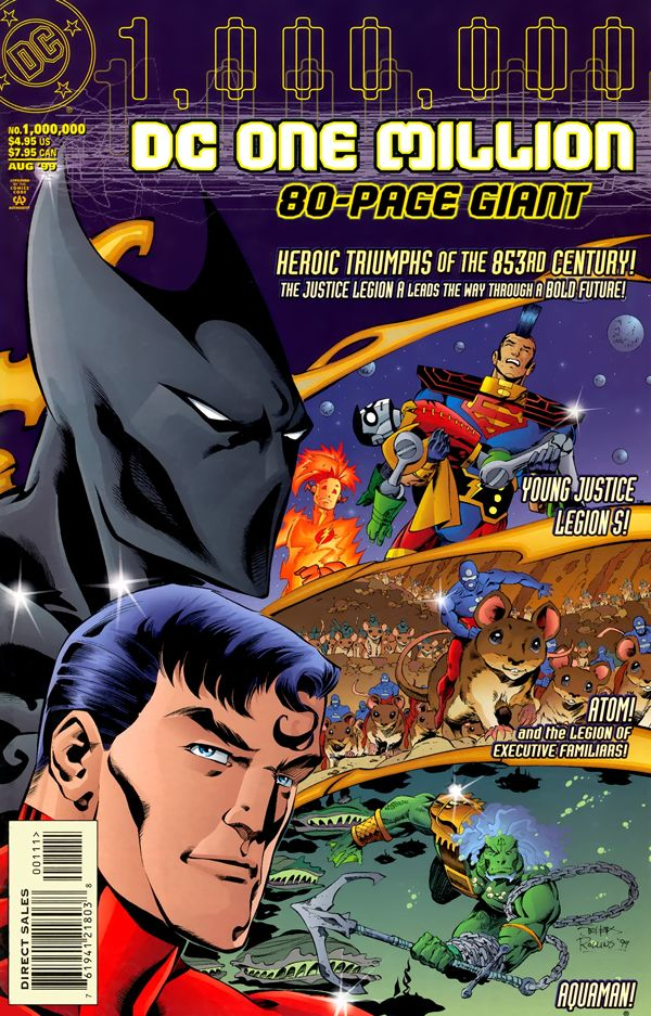 DC One Million 80-Page Giant #1000000 - The One Million Universe at a Glance released by DC Comics on August 1999