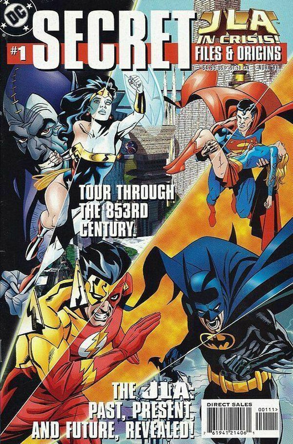 JLA in Crisis Secret Files and Origins #1