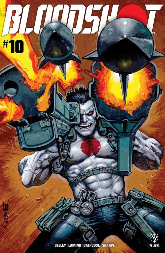 "BLOODSHOT #10, Part 1 of ""One Last Shot"" (Preview)"