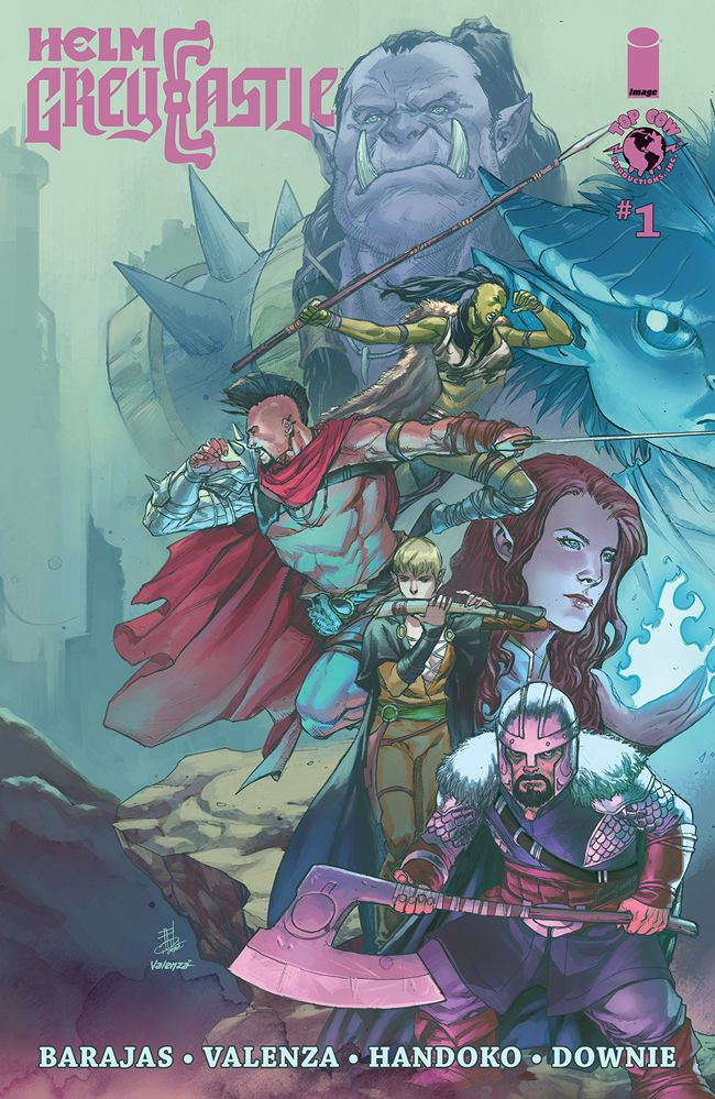 Helm Greycastle To Launch At Top Cow In April