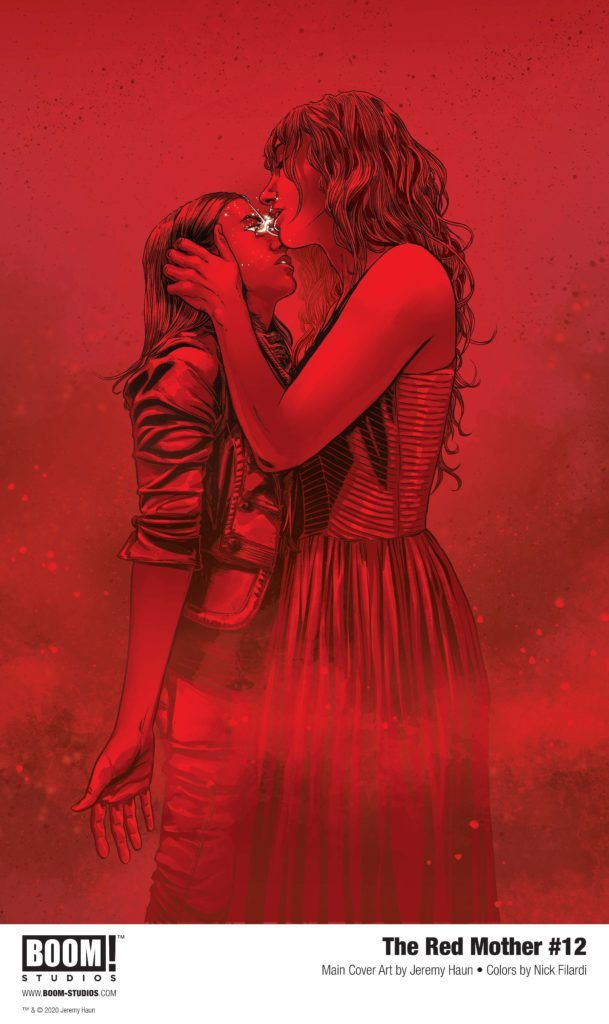 Series Finale of THE RED MOTHER (@boomstudios)