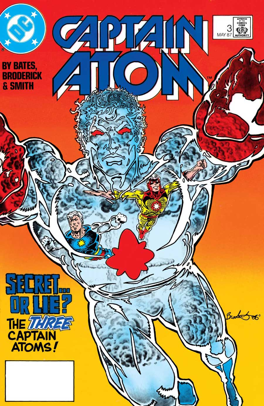 Captain Atom #3 - Blast From The Past released by DC Comics on May 1987