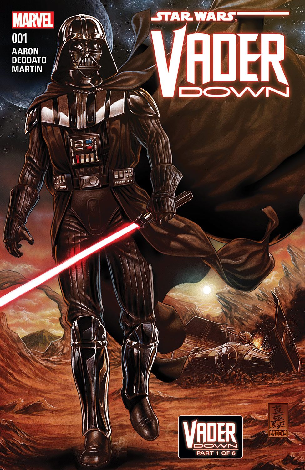 Star Wars: Vader Down #1 (Marvel)