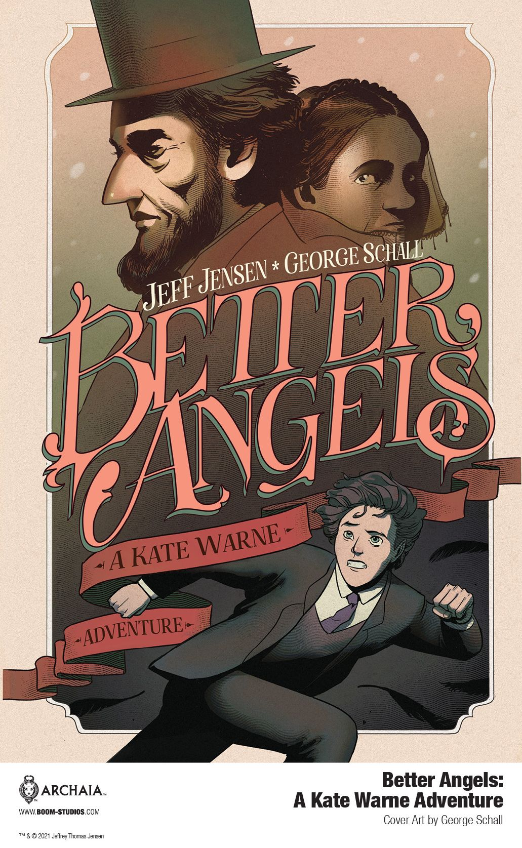 America's First Female Detective Stars in BETTER ANGELS from BOOM! Studios