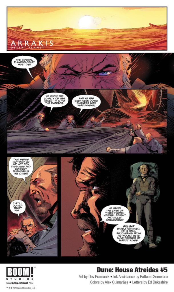 Dune: House Atreides #5 - First Look