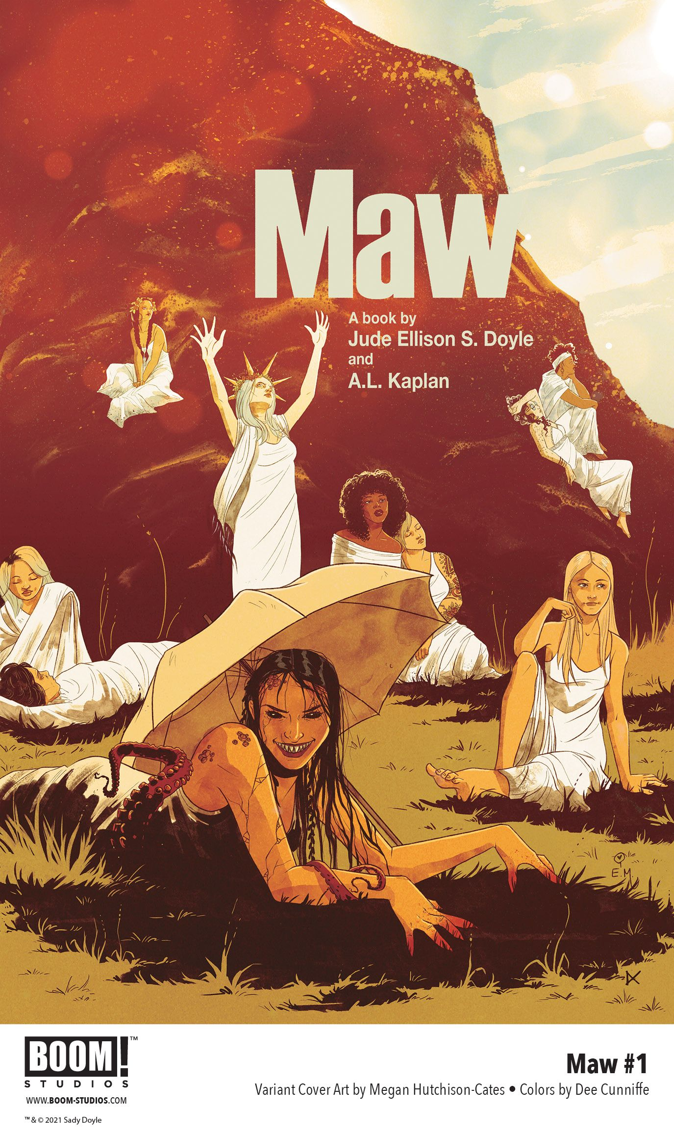 Your First Look at Jude Ellison S. Doyle and A.L. Kaplan's MAW #1