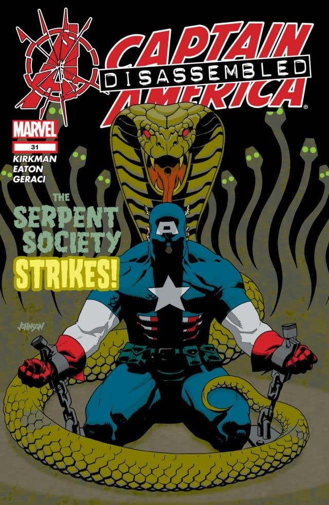 Captain America #31 - Super Patriot (Part 3) released by Marvel Knights on November 1, 2004.