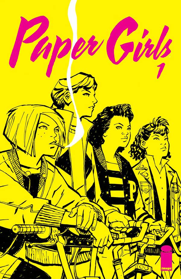 Paper Girls #1 released by Image on October 2015